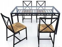 IKEA Granas Стол Обеденный и 4 Стула