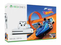 Xbox One S 500Gb+Forza Horizon 3+Dlc