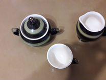 Сахарница,молочница и кофейный бокал