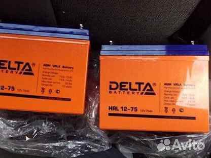 Аккумуляторы Delta HRL 12-75Ан  89235774481 купить 1