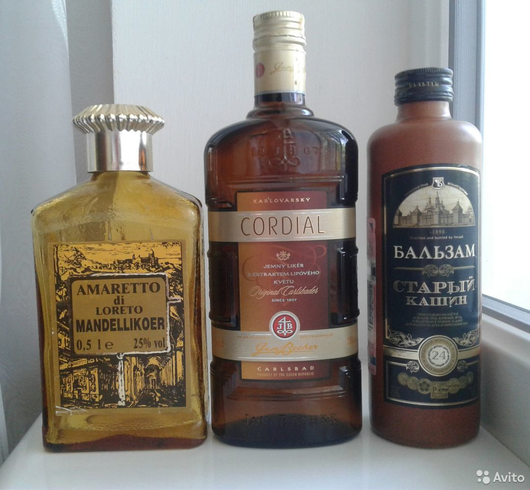 Бутылки для коллекции