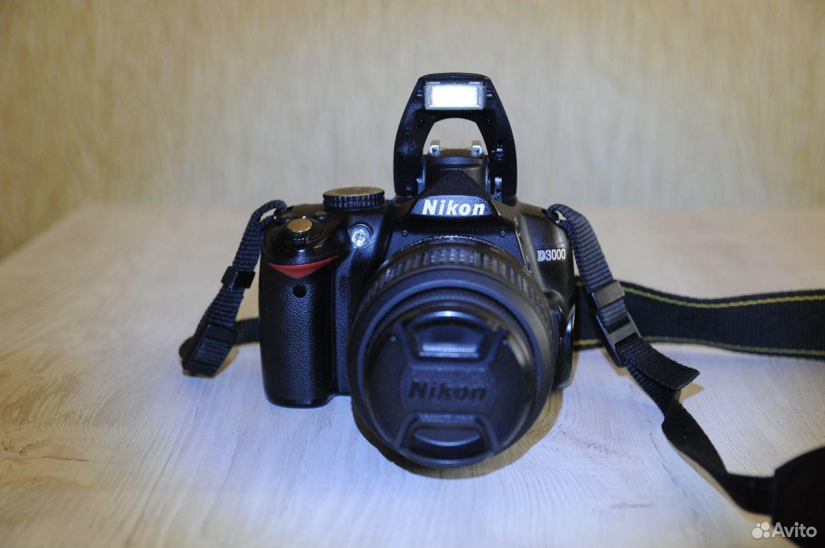 Зеркальный фотоаппарат Nikon d3000  89539538882 купить 3