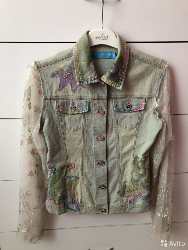 Куртка - джинсовка  89002020556 купить 1