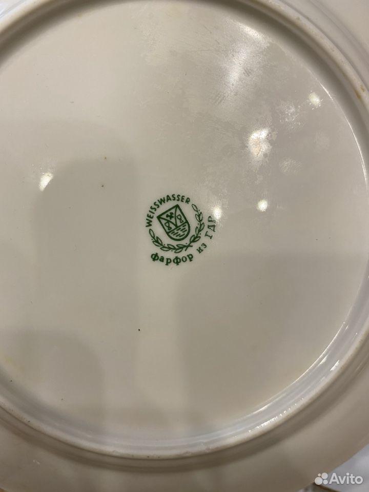 Набор тарелок гдр