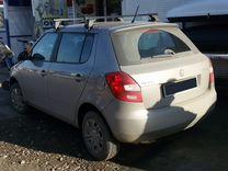 Багажник на крышу Skoda Fabia+монтаж