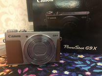 Фотоаппарат Canon Powershot G9X Silver — Фототехника в Москве