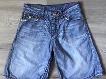 Джинсовые шорты плавки True Religion 33 оригинал