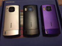 Nokia 6700 slide (silver/black/purple)