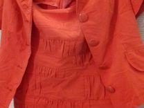 Костюм летний пиджак+юбка