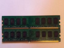 Оперативная Память Kingston DDR 2 (2x1Gb) — Товары для компьютера в Перми