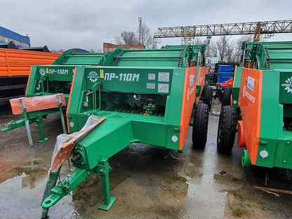 Пресс-подборщик пр-110М Унисибмаш