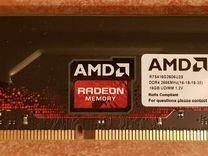 Оперативная память 16Gb DDR4 2666MHz AMD