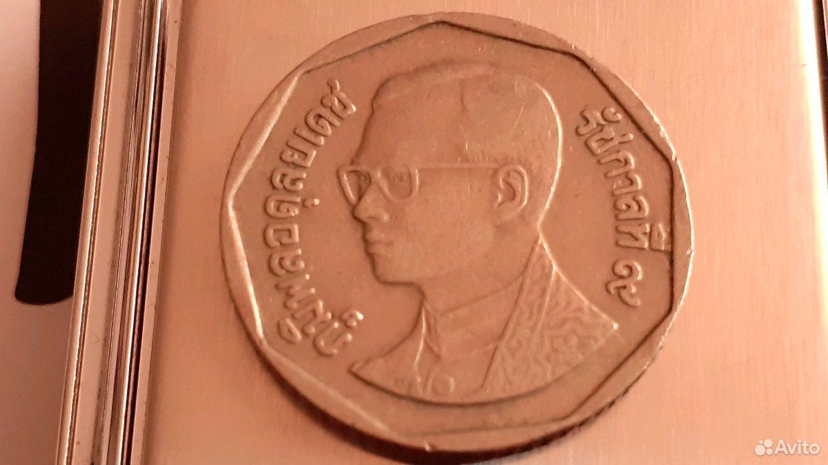 Монета 5 бат Тайланд Рама IX  89630411273 купить 1