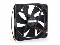 Вентилятор Gembird 140x140x25 втулка 3 pin 40 см