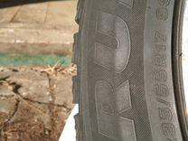 R 17. 235/55. Bridgestone. зима Разболтовка5*114,3