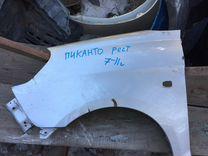 Kia Picanto рестайлинг переднее левое крыло