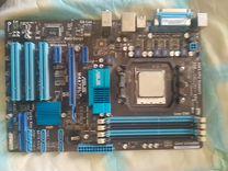 Мат. плата Asus M4A78LT + Проц. AMD Athlon II x4